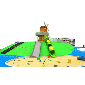 Lighthouse pirate ship windmill theme a variety of play items china children playground equipment