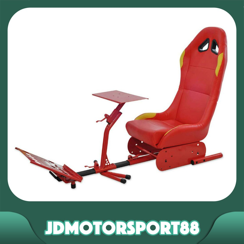 JDMotorsport88 Racing Gmae Simulator Seat For XBOX, Thrustmaster, Logitech G27