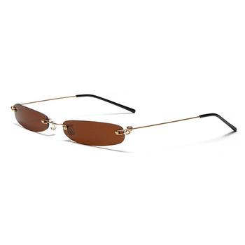 b8ba4ded9194 90S Sunglasses Square Small Retro 80S Steampunk Funny Sun Glasses Vintage  Red Punk Shades For Women