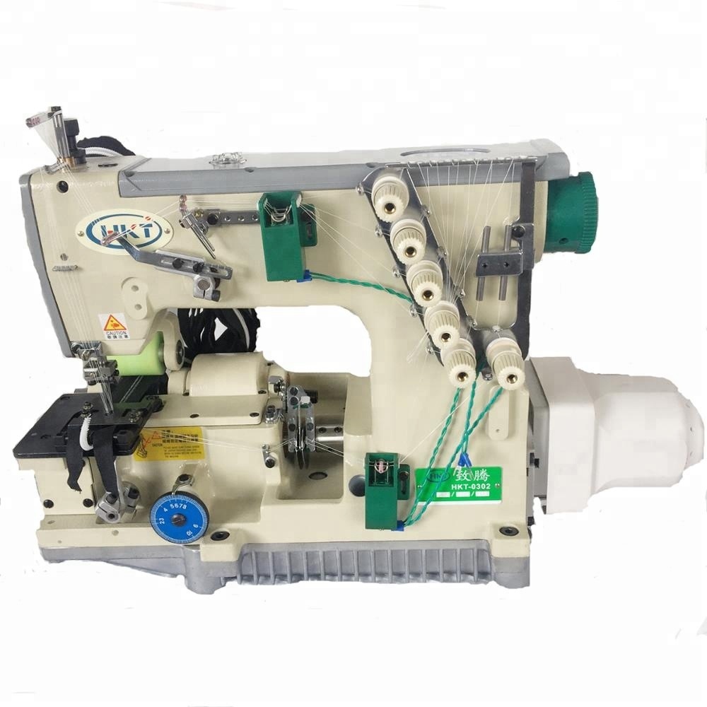New design servo motor high speed nylon zipper industrial sewing machine