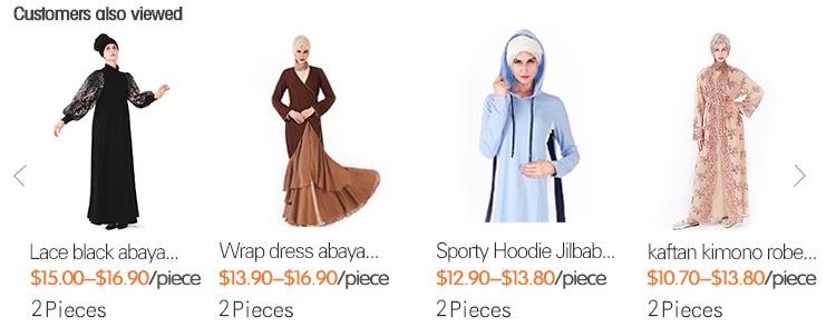 2019 abaya casual comfortable chiffon front open maxi dress melayu kimono islamic clothing high-waisted abaya muslim dress