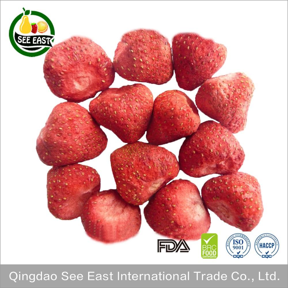 Hot Sale Snack Freeze Dried Fruit Freeze Dried Strawberry