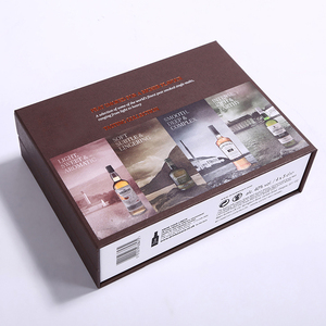 Creative new design wine bottle box gift cardboard packaging for wine
