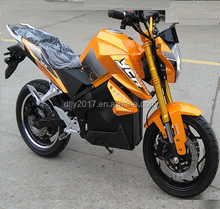 Super Fast DPX 3000W 100km/h Electric Racing Motorcycle