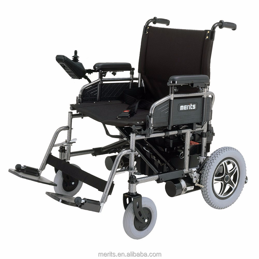 P181 best professional Taiwan heavy duty folding e power wheelchair