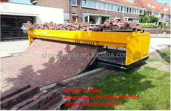 German technology ! tiger stone brick laying machine price SY6-400 paver  brick laying machine