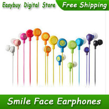 Hot Sale 1pcs lot New High Quality Piston Earphone Headphone Headset 3 5mm In Ear Smile