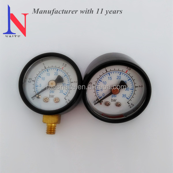 Small 35mm Steam Engine Pressure Gauge