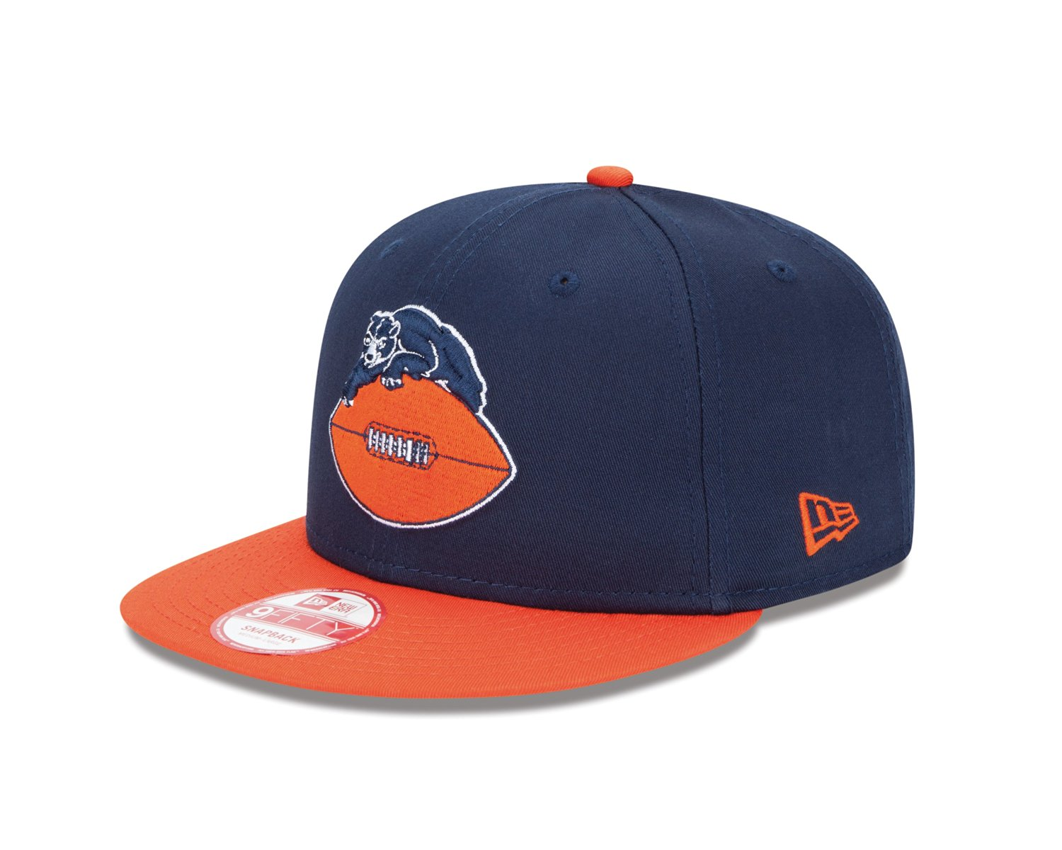 9b67f0bfb Get Quotations · NFL Chicago Bears Baycik Historic 9Fifty Snapback Cap