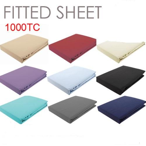 1000tc coton gyptien 1 pi ce lit drap housse literie id for Drap housse coton egyptien