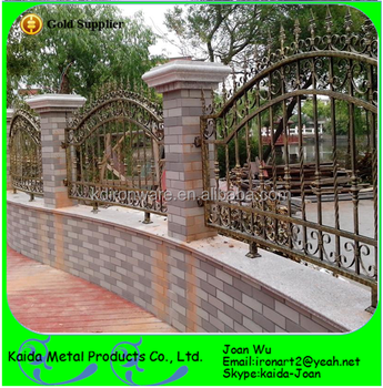 Fences Design Fancy wrought iron wall top fences design for housevillagarden fancy wrought iron wall top fences design for housevillagarden workwithnaturefo
