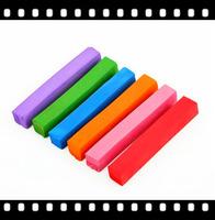 Rainbow color round hair chalk for hair style
