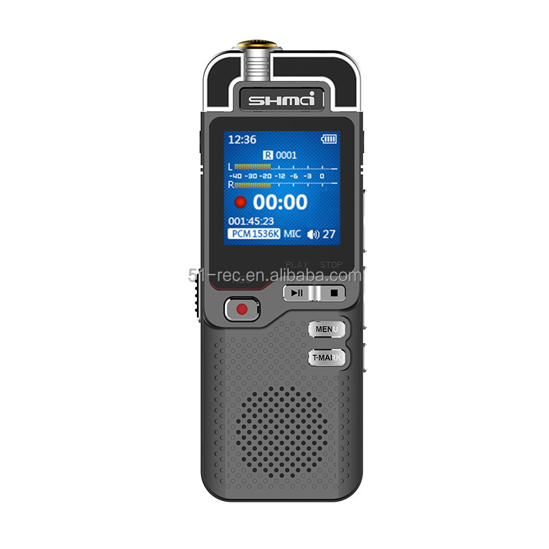 New arrival dictaphone 8gb stereo telephone line recording voice recorder