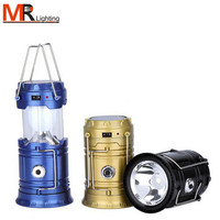 Hot selling LED rechargeable lamp portable led solar charging camping lanterns