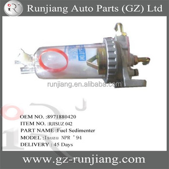 Used Truck Parts Oem 8971880420 Fuel Sedimenter For Isuzu Npr - Buy Fuel  Sedimenter,Used Truck Parts,Vavious Parts For Truck Product on Alibaba com