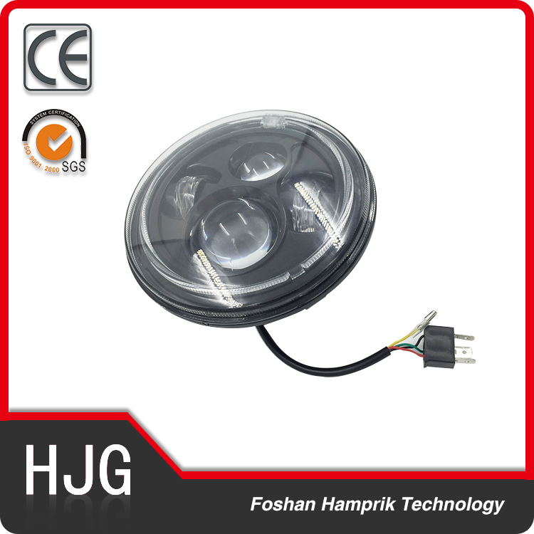 32v 45w 7 inch motorcycle headlight for harley