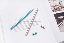 Office Supplies stationery Metal 0.5mm with Cheap price Push Mini Roller Pen