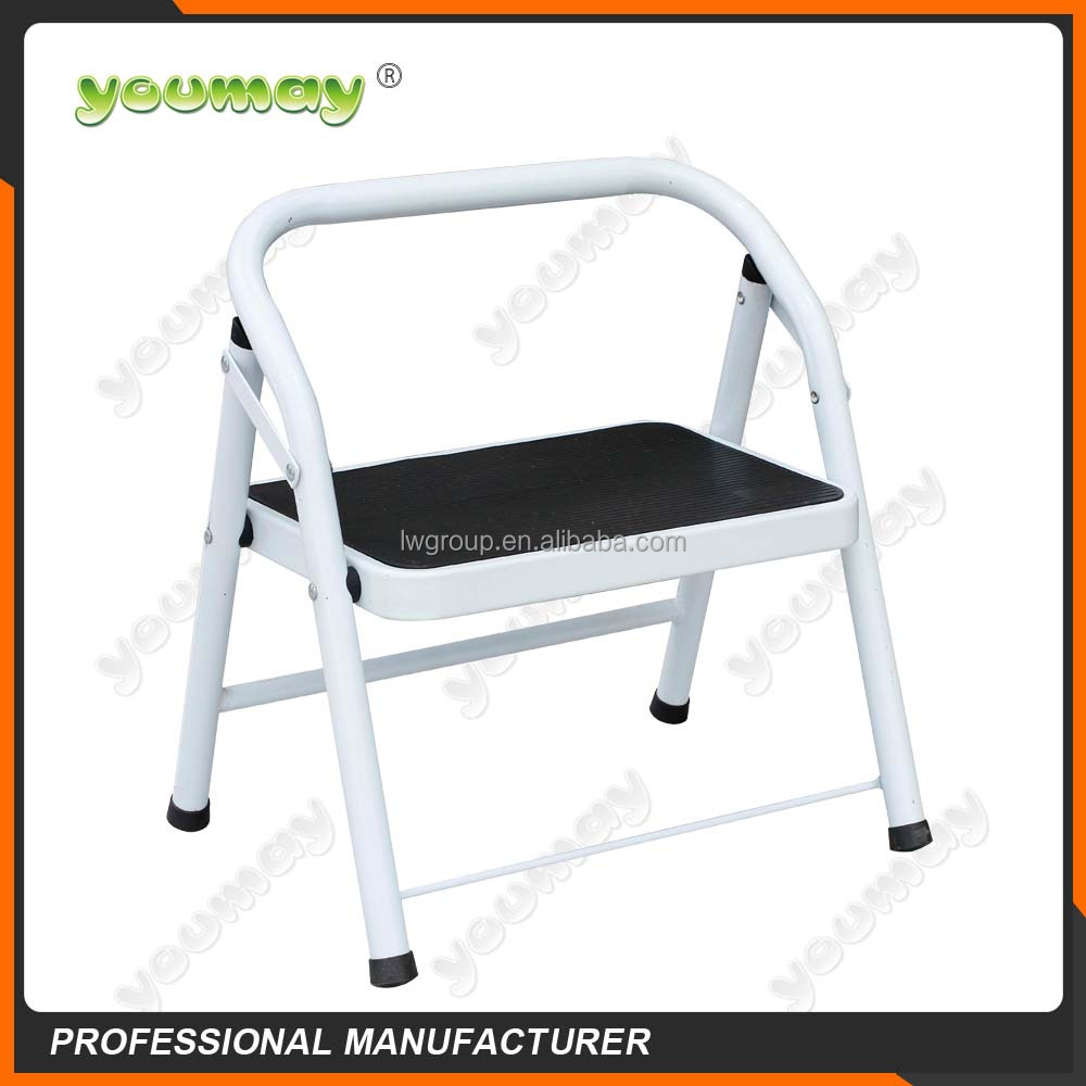 EN14183 Steel Folding step ladder stool SF0202A fold step stool metal stool steel ladder chair stair lift