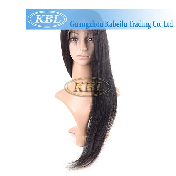 New Large stock human hair fall wigs,cheap wigs human hair