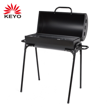 Brazil Barrel Barbecue Grill Simple Oil Drum Charcoal Bbq