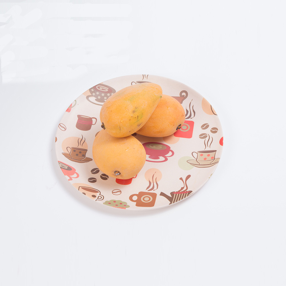 High Quality Durable Round Plastic Serving Tray