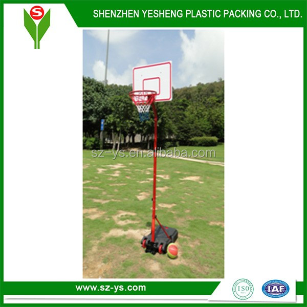 Basketball stand for children with adjustable basketball pole height