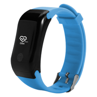 Waterproof Blood pressure monitor bluetooth smart bracelet manual fitness tracker