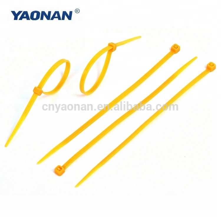 Plastic Self-Locking Eco-Friendly Nylon Cable Ties Price Tie Wrap /Zip Ties Size / Electric Wiring Reusable Cable Tie China