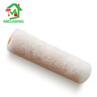 "Paint Roller Refill Polyester 4"" Apricot Color Knitted Polyester Finger Paint Roller Refill"