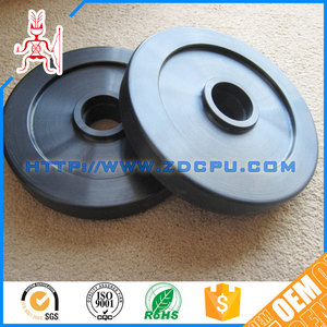 Wholesale useful molded small plastic pulley for toy car