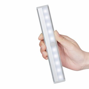Ultra Thin Mini Built-in Battery led bed reading light USB Portable Wireless Motion Activated Automatic LED night Light