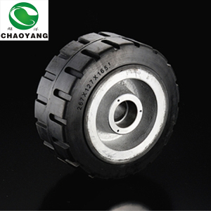 most popular Rubber Forklift wheel Tyres 160*50