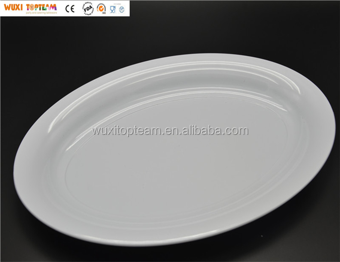 "8""x12"" Plastic Oval Serving Tray"