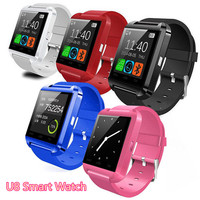 Fast shipping 2017 Promotional Hot U8 DZ09 A1 D3 GT08 Bluetooth Smart Watch For Mobiles Android and iPhone