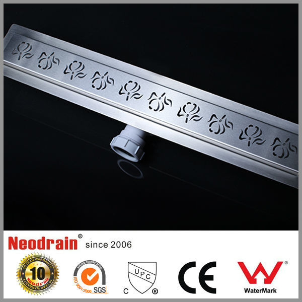 Stainless steel 304 plastic shower drain cover
