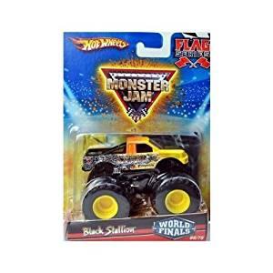 Hot Wheels Monster Jam 2010 Black Stallion Flag Series, World Finals # 66/75 (Small Truck)