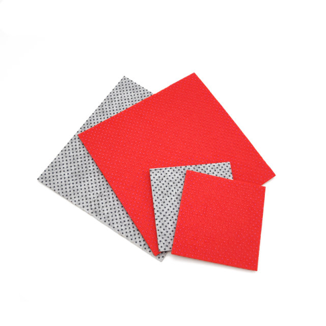 Customized OEM  polyester nonwoven fabric felt place mat for wholesale