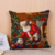 Christmas Santa Claus cotton linen sofa pillow case cushion cover