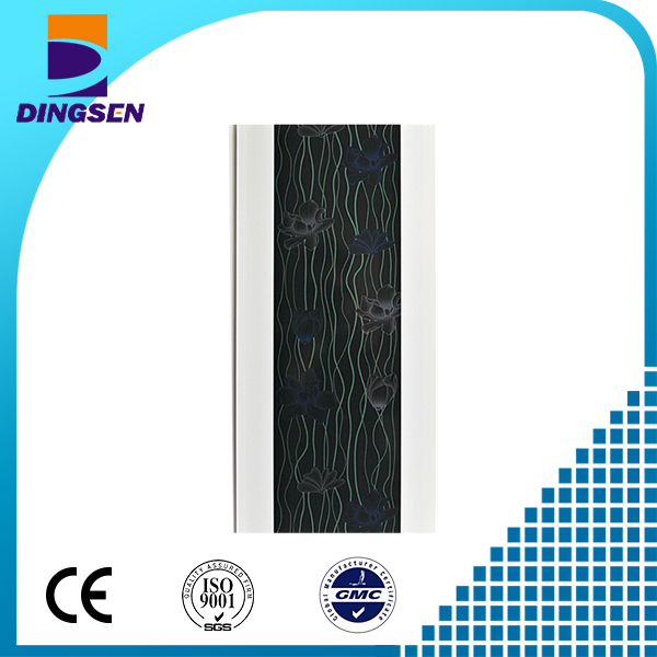 PVC material plastic transfer PVC ceiling panel for home decor