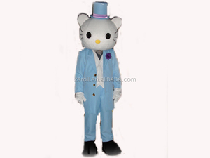 Best design wholesale price velour material hello kitty adult costume