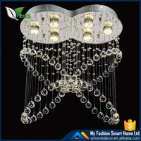 Plastic large crystal chandelier with CE certificate
