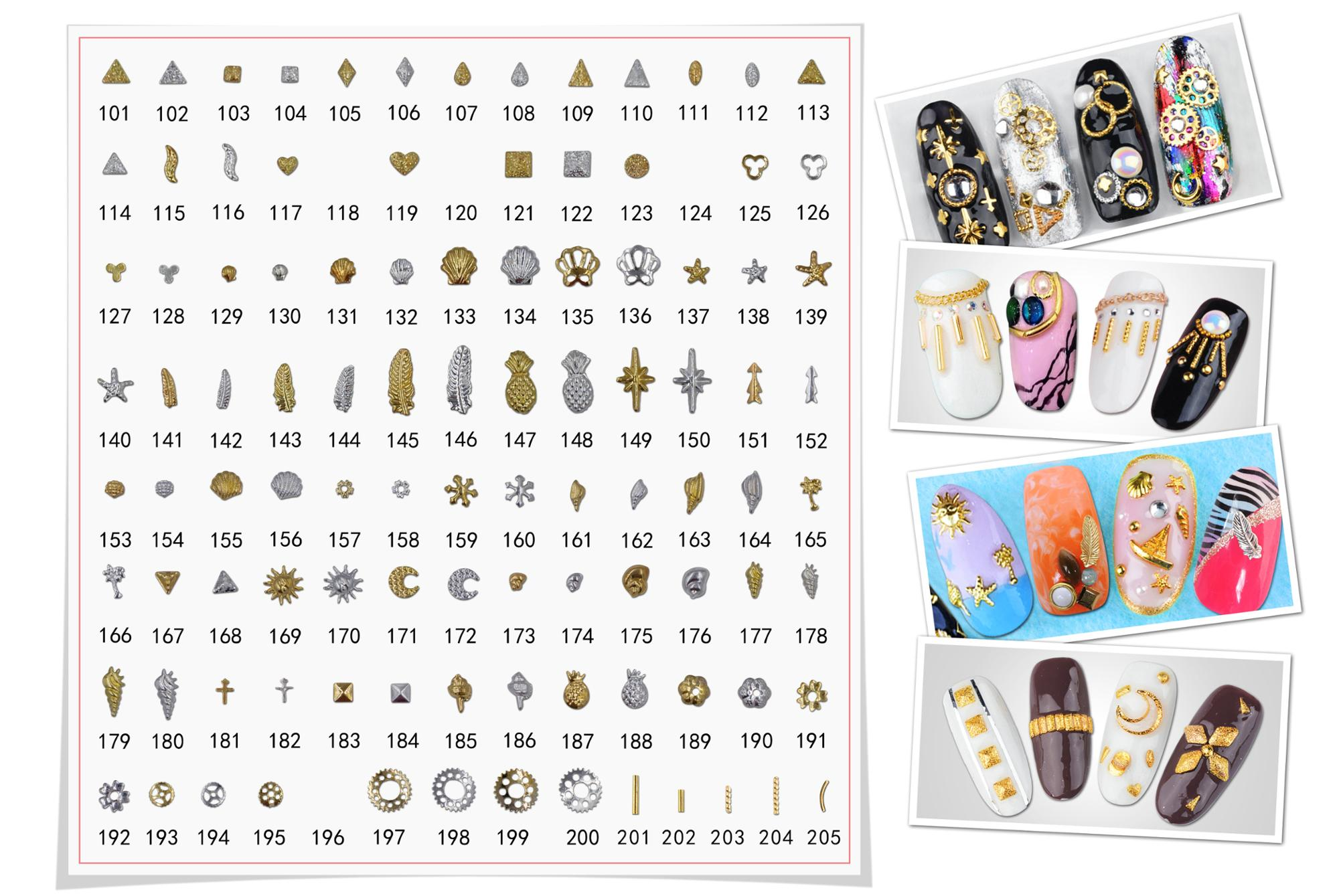 Many colors Zircon Rhinestones nail pixie dusts for nail art designs