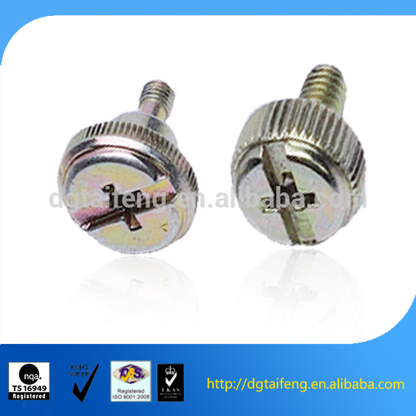 Slotted cylinder head tamper proof adjusting bolt