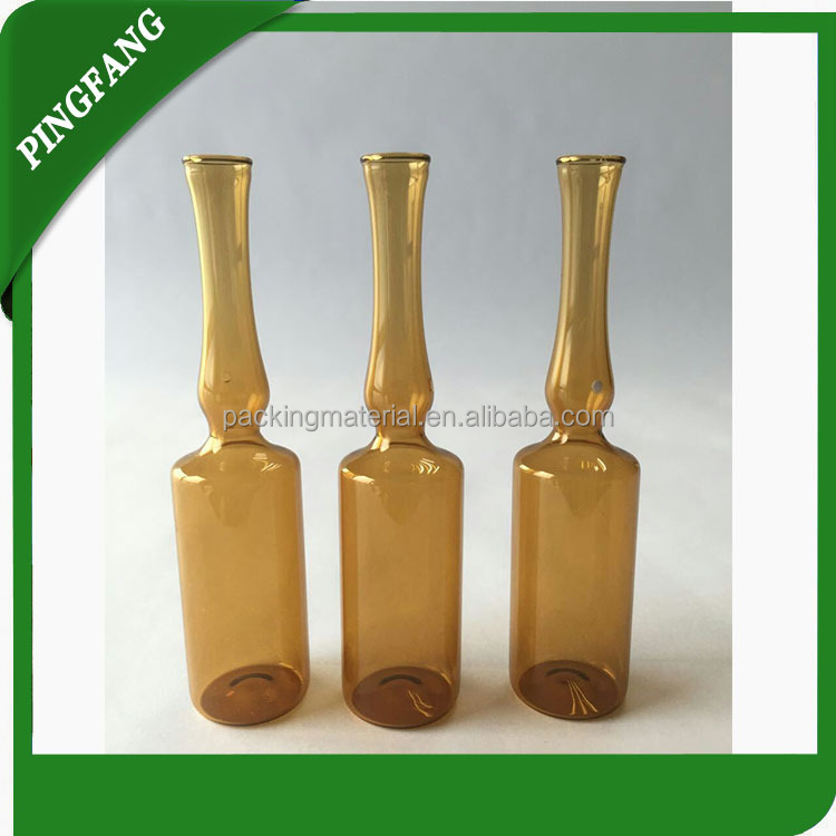 Different Size of Medical Empty Glass Ampoule