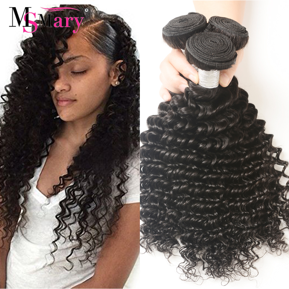 Hot Selling Top Grade 8A Best Brazilian Deep Wave Remy Hair Extensions, Curly Hair Human Hair Weave