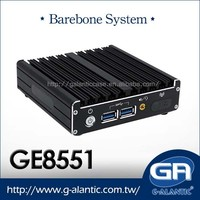 GE8551 - Intel NUC I5 industrial fanless mini pc for barebone system