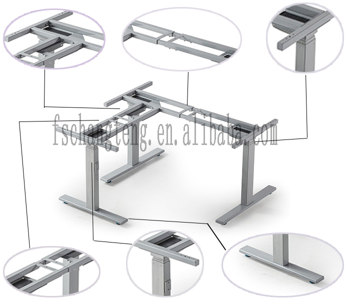 Wholesale Electric height adjustable office desk office computer ...