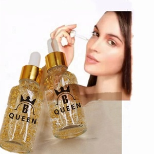 Private Label High Quality 24K Pure Gold Collagen Anti-Aging 24k gold serum