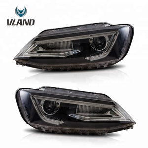 LED Headlights Head Lamp Assembly For VW Jetta MK6 2012-2014