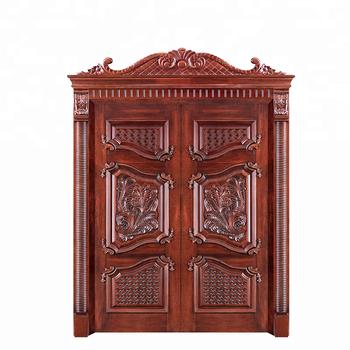 New Design American Wooden Front Double Door Designs